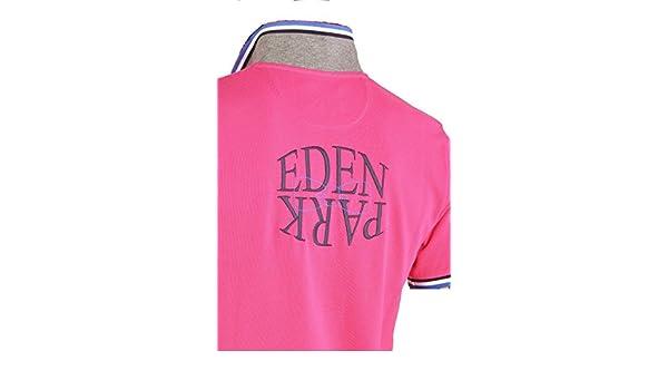 EDEN PARK - Polo - polo rose mirror - Taille XL  Amazon.fr  Chaussures et  Sacs b57850817c3c