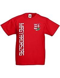 Ungarn Magyarország Kinder T-Shirt Trikot Name Nummer