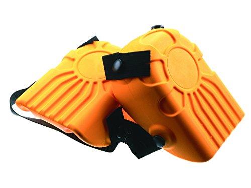 Ginocchiera PU Arancione Kapriol