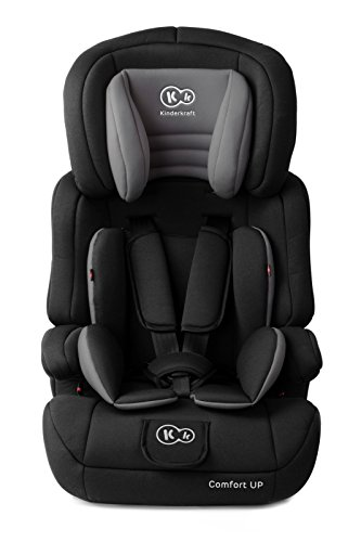 Preisvergleich Produktbild Kinderkraft Comfort UP Kinderautositz 9 bis 36 kg Gruppe 1 2 3 Autokindersitz Autositz Kindersitz (Schwarz)