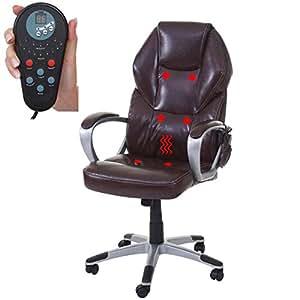 mendler massage b rostuhl hwc a69 drehstuhl chefsessel heizfunktion massagefunktion kunstleder. Black Bedroom Furniture Sets. Home Design Ideas