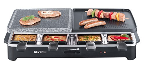 Severin Rg 2341 Raclette 1500 Watt 8 Pf Nnchen