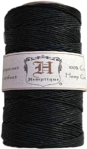 hemptique-hemp-cord-spool-20lb-205-black-other-multicoloured