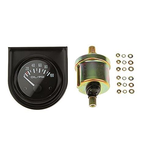 Kraftstoffdruck Digitales Öldruckmesser Hohe Empfindlichkeit 0 ~ 100 Psi Bereich