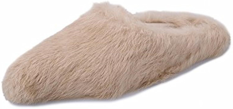 Chaussons Simples Baotou Daim Pantoufles Maison Plat Rond Coton Pantoufles Pantoufles Pantoufles Chaussures , blanc , 37 EURB0779NPQKXParent 2f8c2c