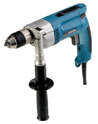 Makita DP4003J 700RPM Llave 750W 2500g Negro, Azul - Taladro eléctrico (700 RPM, 1,3 cm, 3,8 cm, 0-700 RPM, 750 W, 2,5 kg)
