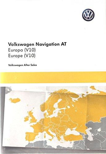 Volkswagen 5G0919866AJ Navigationsdaten Europa V14 für Golf 7 Sportsvan Discover Media -System AT- (Sd-karte-navigations-system)
