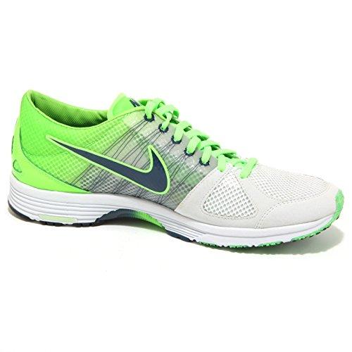 1376O sneaker NIKE LUNASPIDER verde/grigio scarpe uomo shoes men Verde/Grigio