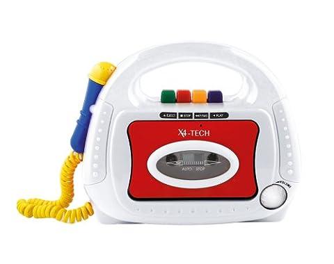 X4-Tech- Bobby Joey - 700102 -Lecteur cassette pour enfants
