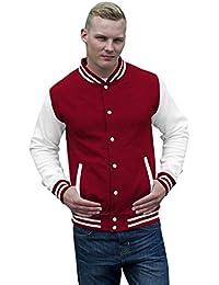 JH043 Varsity Jacket Sweat Jacke Sweatshirt