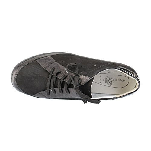 Waldläufer , Chaussures de ville à lacets pour femme Schwarz