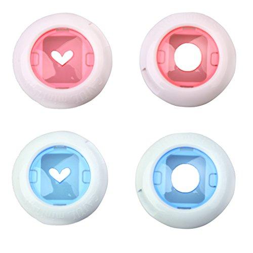 Homyl 4 Stücke Farb-Nahlinse Close-up Lens Nahlinse Makroobjektiv für Fujifilm Instax Mini 7S / 8/8+ / 9 Instantkamera