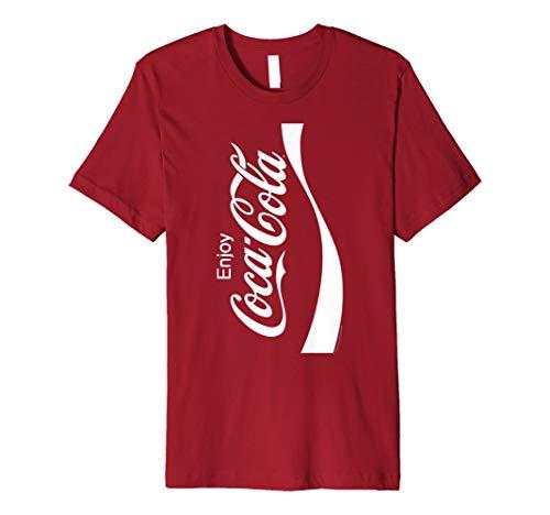 Coca-Cola Coke Can Vertical Logo Costume Graphic T-Shirt