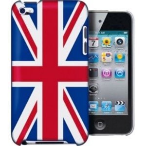 SKS Distribution® Union Jack Apple iPod Touch 4TH 4G 4 Generation Shell Beschützer Handy Smartphone Zubehör Ipod Touch Jack