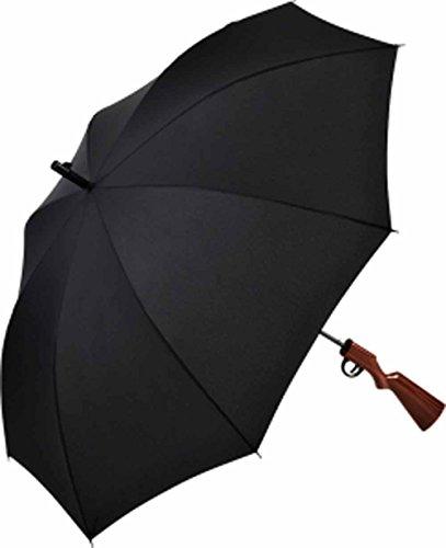 Fare - Parapluie canne poignée imitation fusil de chasse - 7007 - coloris NOIR