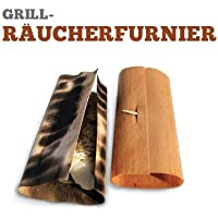 Grill-Räucherfurnier Buche,20 Blatt 29 x 15