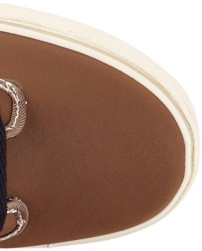 Globe Motley Mid GBMOTLEYM Unisex-Erwachsene Sneaker Braun (toffee/black Fur 16204)