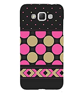 Girly Dotted Checks Pattern 3D Hard Polycarbonate Designer Back Case Cover for Samsung Galaxy Grand Max G720