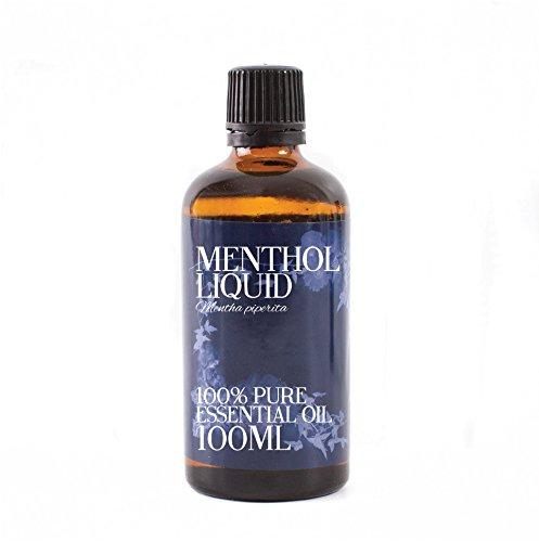 Mystic Moments Olio Essenziale Di Mentolo Liquido - 100ml - 100% Puro