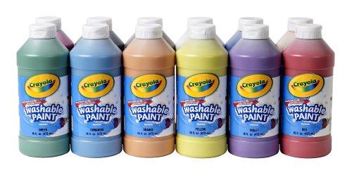 Crayola Bildung waschbar Lack-12Stück (Sortiment)