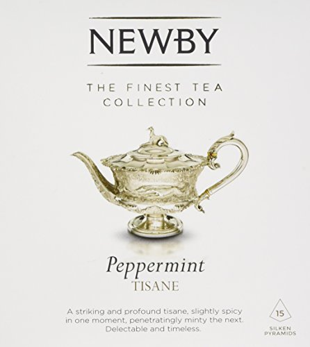 Newby Teas Silken Pyramids Peppermint Tea 38 g (Pack of 1, Total 15)
