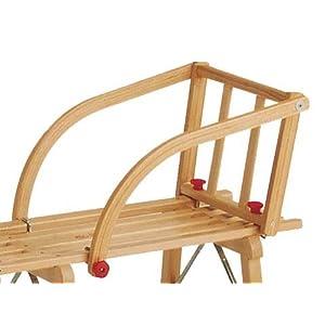 Gloco Rodellehne ganz aus Holz