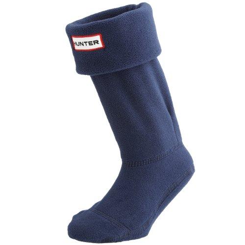 SV Hunter - Calze in pile originali per stivali Hunter, da bambino, unisex, colore nero Navy