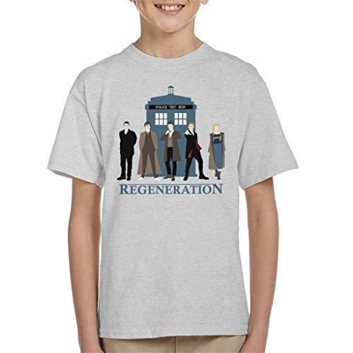 Doctor Who Regeneration Tardis Kid's T-Shirt