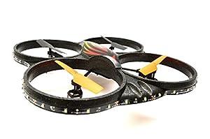 ES-TOYS Cuadricóptero teledirigido UFO 4.5 Channel 2.4 GHz 6 Axis Gyro X125L con cámara