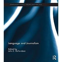 Language and Journalism (Journalism Studies)