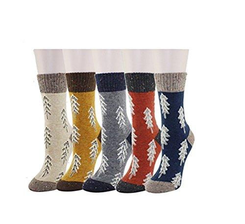 Santwo Damen Socken One size Gr. One size, Style F(5 Pairs) (Microfiber Cut Low Sock)