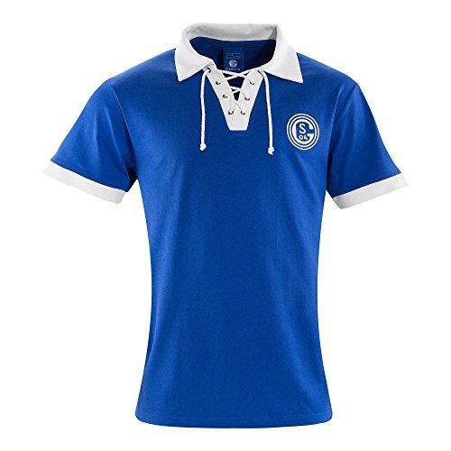 FC Schalke 04 Retro Trikot T-Shirt Tradition Größe 3 XL