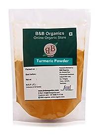 B&B Organics Turmeric (Haldi) Powder, 200 Grams