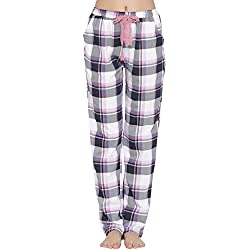 Clovia Cotton Rich Checkered Pyjama