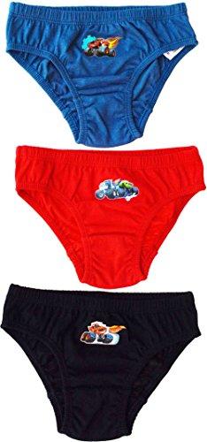 (3 Pack) - Boys Blaze And The Monster Machines 100% Cotton Briefs Underwear