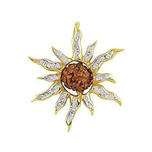 ORRA Rudraksha 22k Yellow Gold Pendant