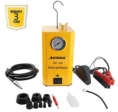 BELEY AUTOOL SDT-202 Auto-EVAP-System-Tester Detektor Auto Rohr Leck Detektor, 12-V-Kfz-Leckprüfgerät für Kraftstoffleitungen mit EVAP-Adaptern für alle Fahrzeuge - 3 Jahre Garantie