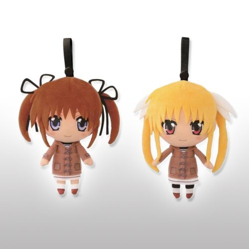 (What lottery premium Magical Girl Lyrical most first bullet C Awards warmth in you costume Set of 2 stuffed individually The MOVIE 2nd A's (japan import) by Banpresto)