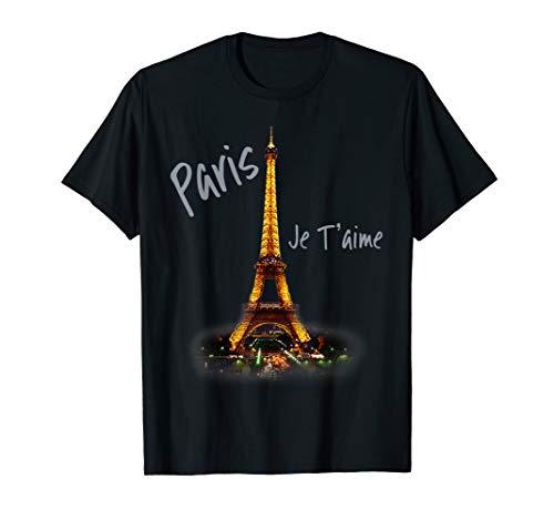 Eiffelturm Paris Vintage Ich liebe Frankreich Stadt T-Shirt -