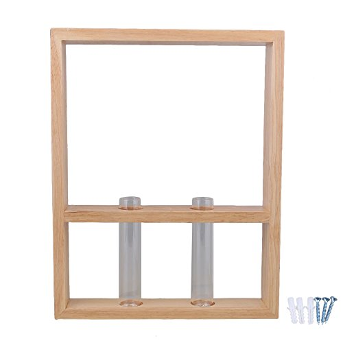 bqlzr 38 x 30 x 5 cm aus Holz und transparent Wand montieren Shadow Box Display Regal aus Holz Schrank Wand Glas Fall Box Loch unten Typ (Schrank Shadow Box)