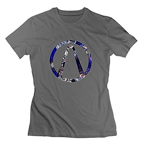 Nana-Custom Tees - T-shirt - Femme - Noir - M