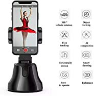 Portable AI Gimbal Stabilizer,360 ° Rotation Smart Phone Stabilizer,Smart Tracking,Horizontal/Vertical shootin