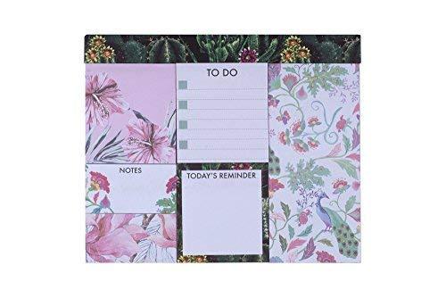 Tri-Coastal Design - Set di Sticky Notes - Blocchetti di Foglietti Adesivi Riposizionabili Decorati e Colorati - Blocco con Stampa Multicolore Diversa - 600 Foglietti