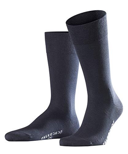 FALKE Herren Socken Cool 24/7 - 80% Baumwolle - 1 Paar - Größe 39-50 - versch. Farben - kühlende Klimaaktivsohle - Herrenstrümpfe Männersocken Sommersocken