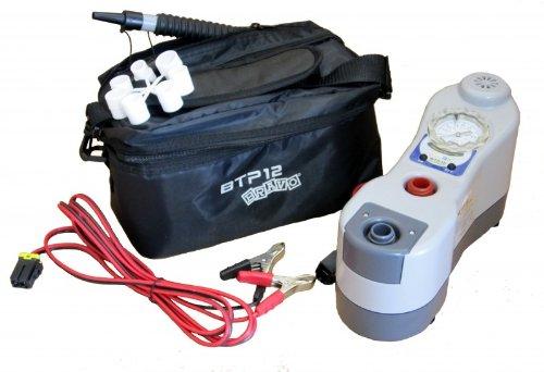 Elektrische Luftpumpe BRAVO BTP 12 Manometer