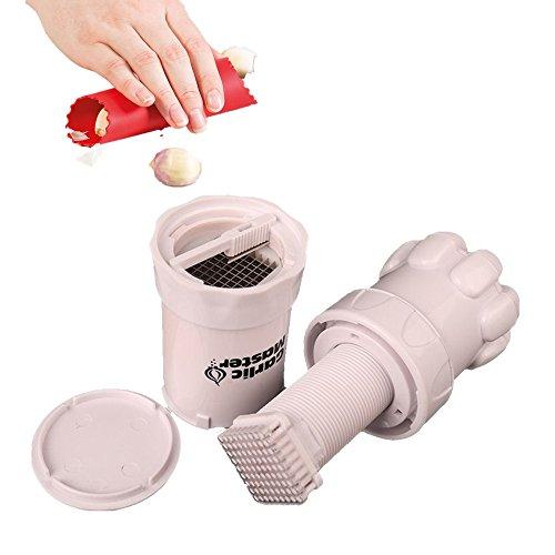 Garlic Crusher knoblauchpresse Edelstahl Multifunktions Garlic Ingwer Press Küchenutensil Küchenwerkzeug küchenprofi