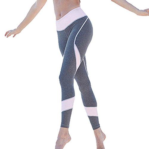 Pantalon Leggings Femmes Faire Des Exercices Leggings Élastique Maigre Pantalon Dames Sports Vêtements Aptitude Leggings Sweatpants Joggings Yoga Fonctionnement Un Pantalon Gym Collants S - L Kootk Rose