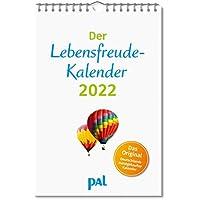 Der Lebensfreude-Kalender 2022: Der Original-Wandkalender, der meistgekaufte Kalender Deutschlands, 40 Blatt mit…