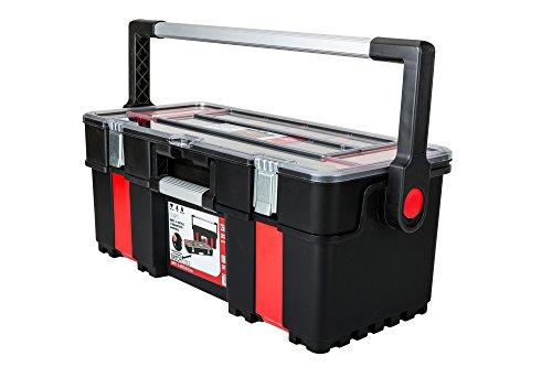 Toolbox Werkzeugkoffer mit Organizer Werkzeugkiste 610x289x255 mm - 2