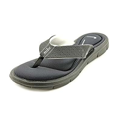 Nike Women's Comfort Thong WMNS Sandal 6 (Black/White)